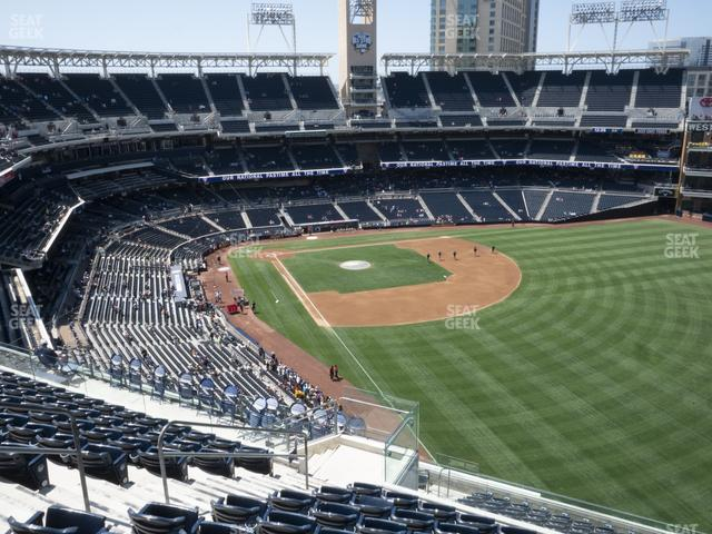Petco Park Section 327 view