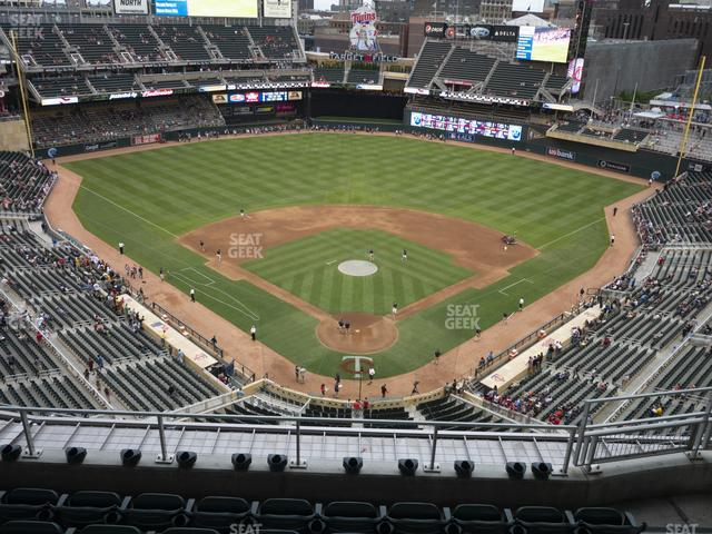 Target Field Section 315 view