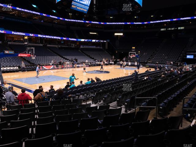 FedExForum Section 112 view