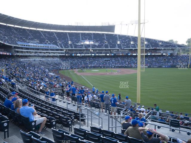 Kauffman Stadium Section 248 view
