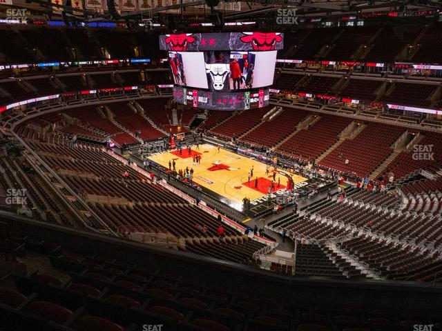 United Center Section 313 view