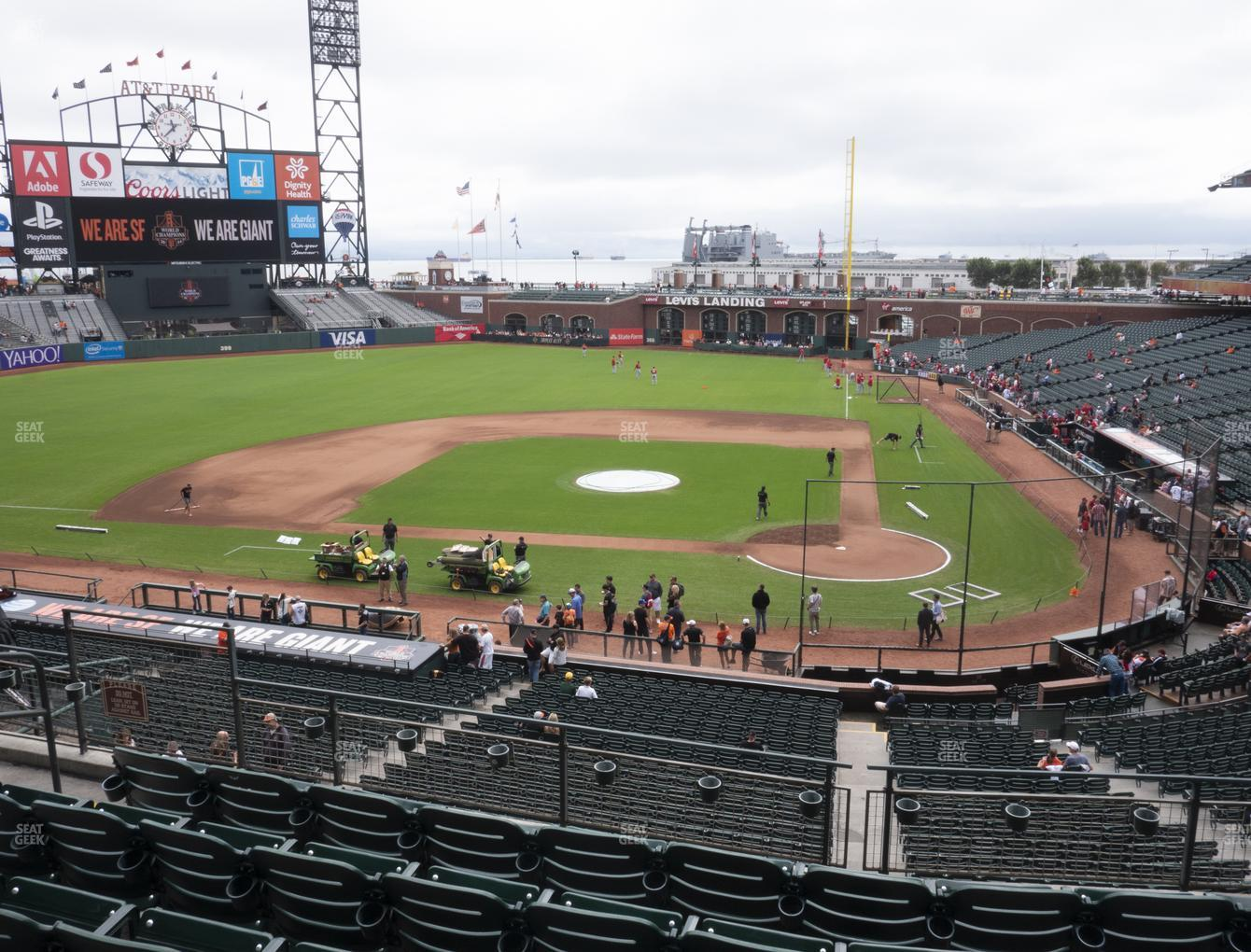 San Francisco Giants at Oracle Park Section 220 View