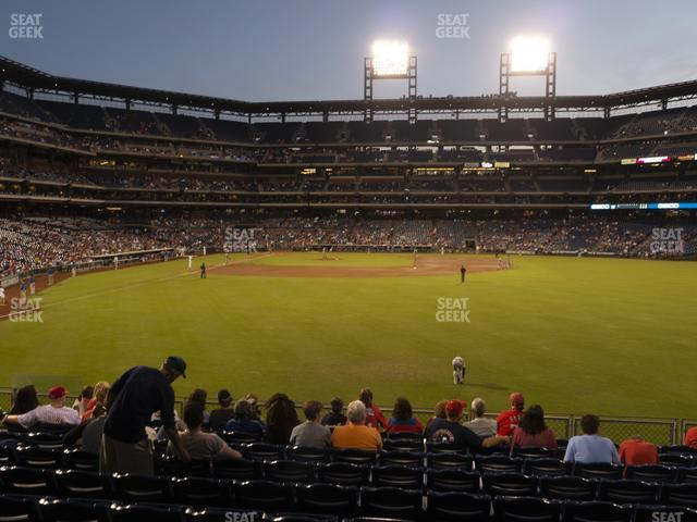 Citizens Bank Park Section 104 view