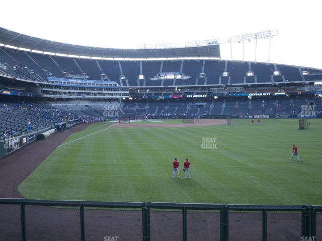 Kauffman Stadium Section 151 view
