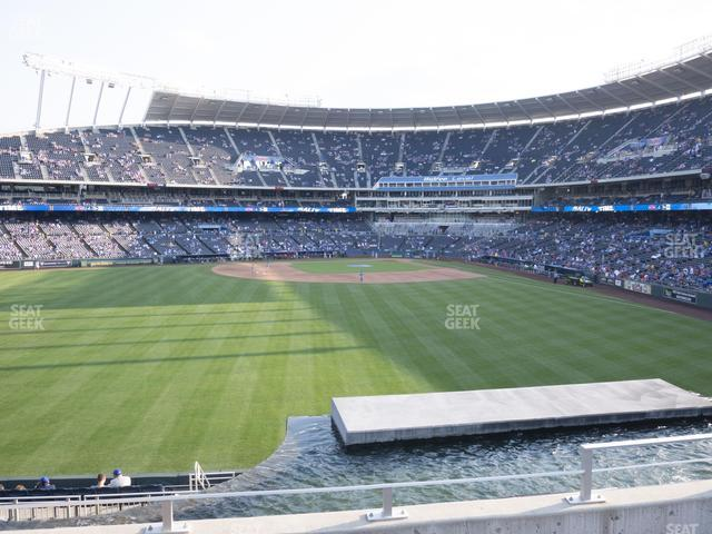 Kauffman Stadium Section 201 view