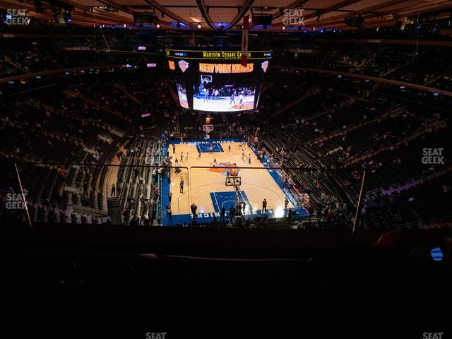 Madison Square Garden Section 304 view