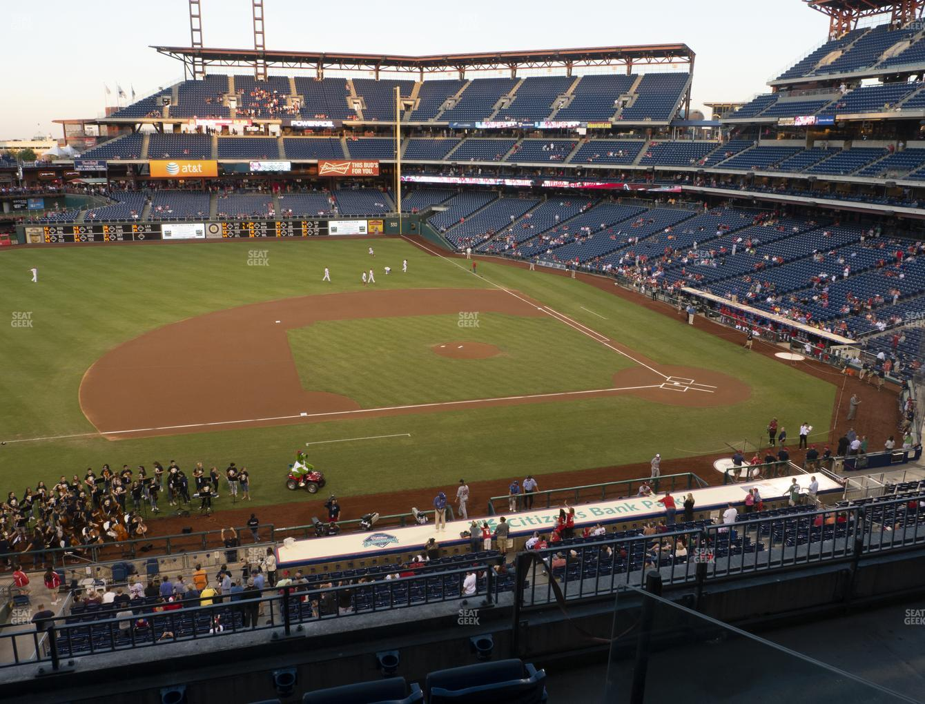 Philadelphia Phillies at Citizens Bank Park Section 229 View