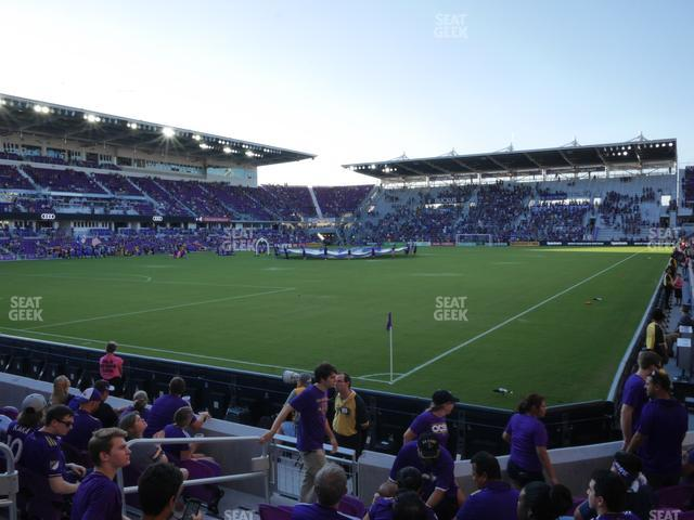 Exploria Stadium Section 1 view
