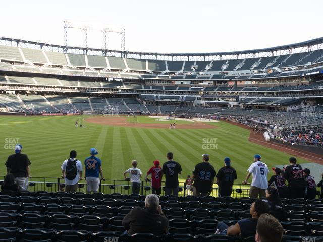 Citi Field Section 135 view