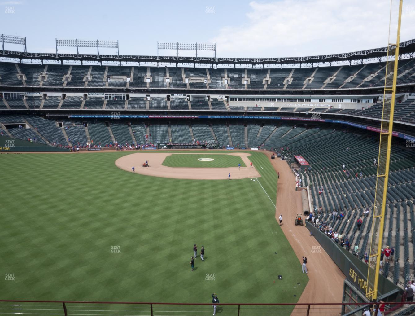 Concert at Globe Life Park Section 205 View