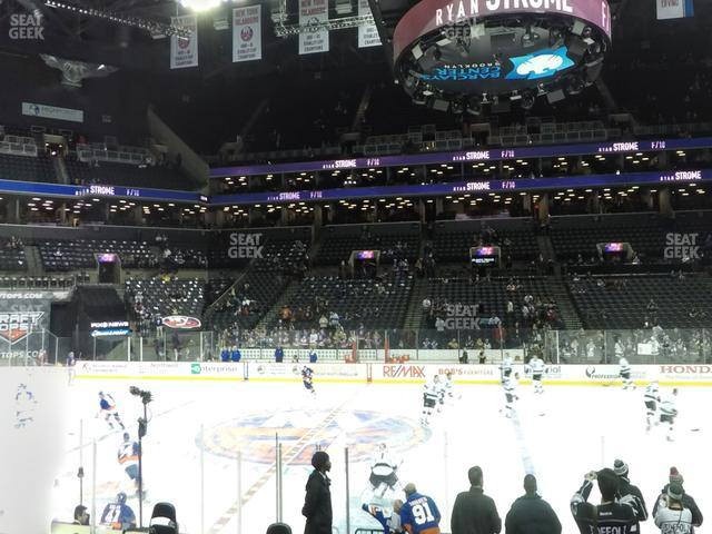 Barclays Center Section 24 view