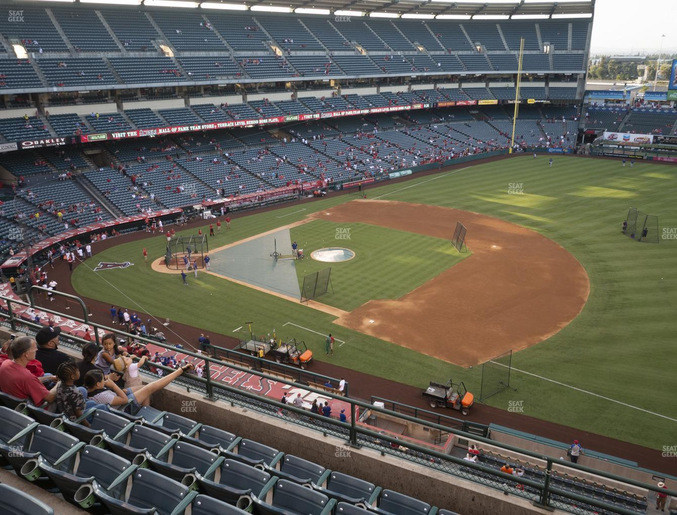 Los Angeles Angels at Angel Stadium of Anaheim Section 427 View