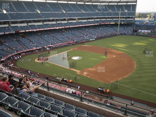 Angel Stadium of Anaheim Section 427 view