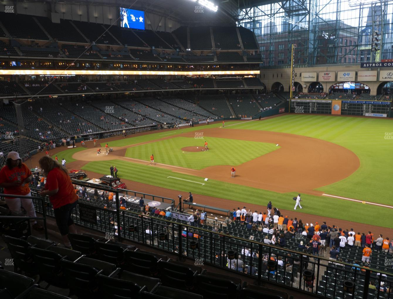 Houston Astros at Minute Maid Park Section 228 View
