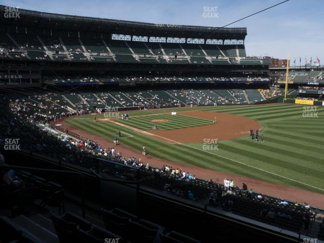 T-Mobile Park Section 214 view