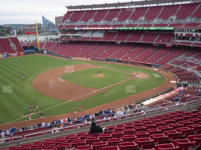 Great American Ball Park Section 414 view