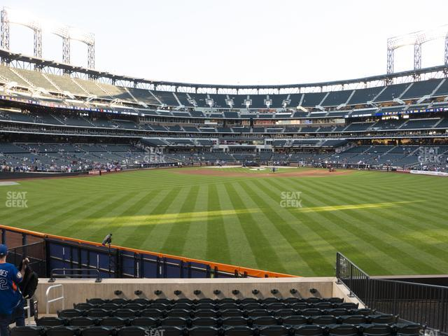 Citi Field Section 140 view
