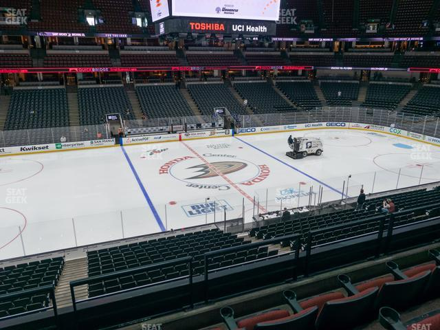 Honda Center Section 321 view