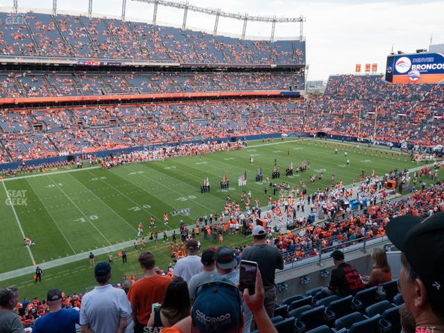 Empower Field at Mile High Section 315 view