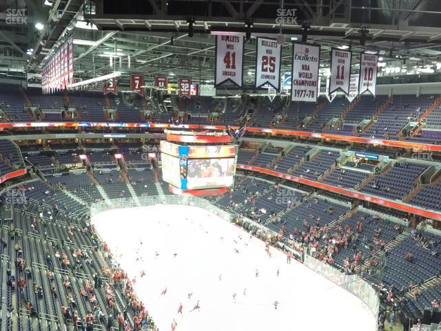 Capital One Arena Section 423 view