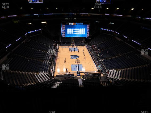FedExForum Section 216 view
