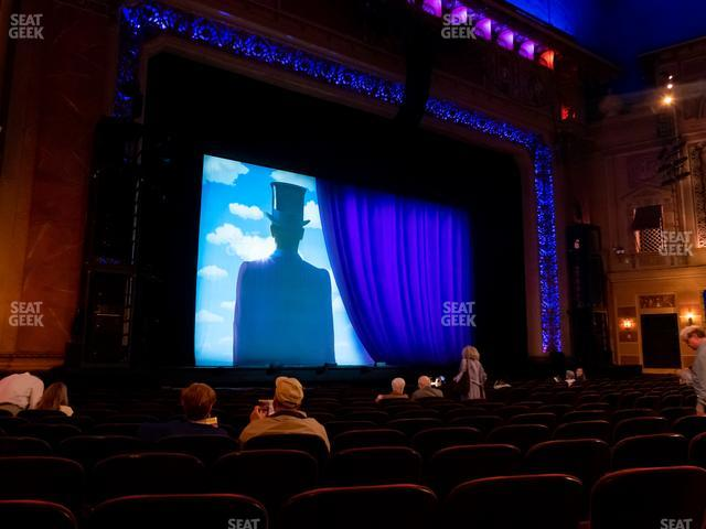 Saenger Theatre - New Orleans Orchestra Left view