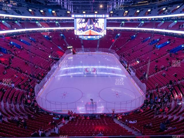 Bell Centre Section 207 view