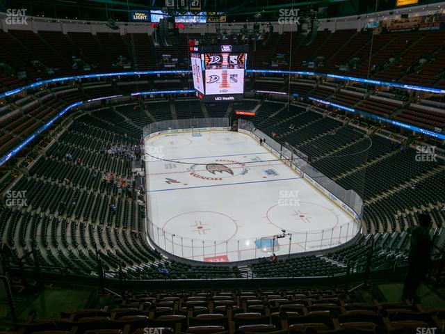 Honda Center Section 402 view