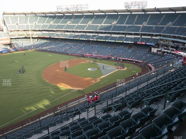 Angel Stadium of Anaheim Section 509 view