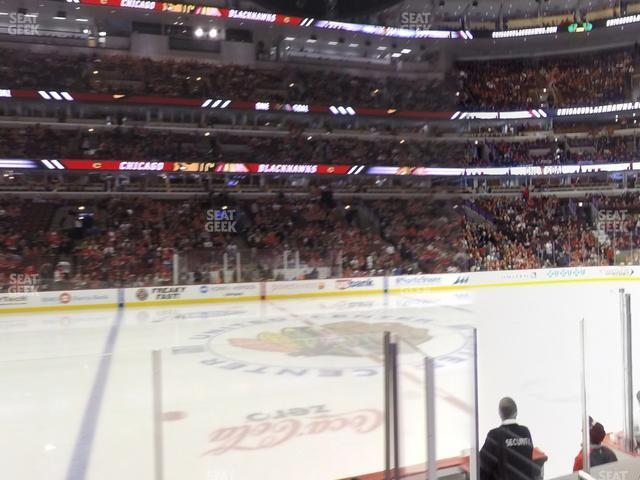 United Center Section 101 view