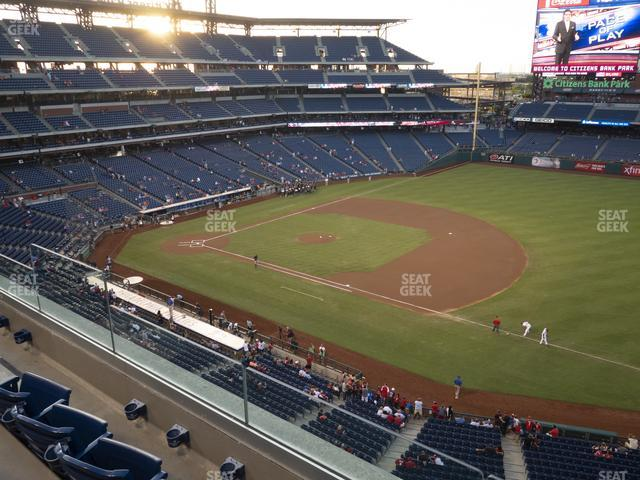 Citizens Bank Park Section 312 view