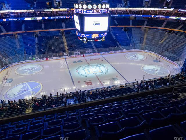 KeyBank Center Section 307 view