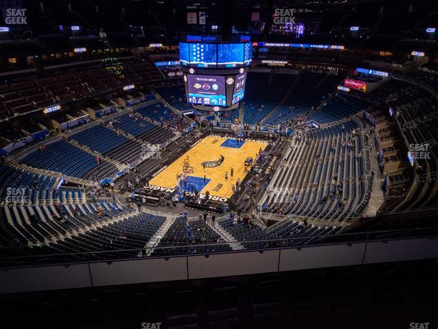 Amway Center Section 215 view