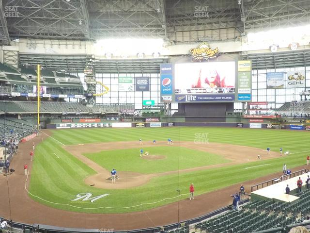 Miller Park Section 217 view