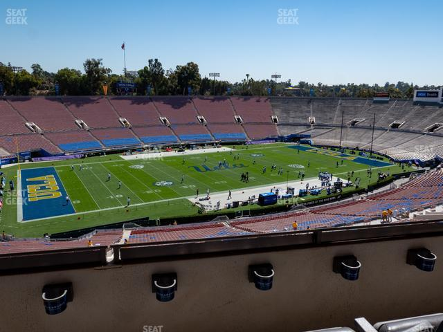 The Rose Bowl Section Club 109 view