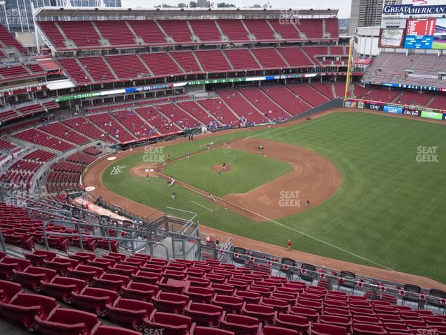 Great American Ball Park Section 534 view