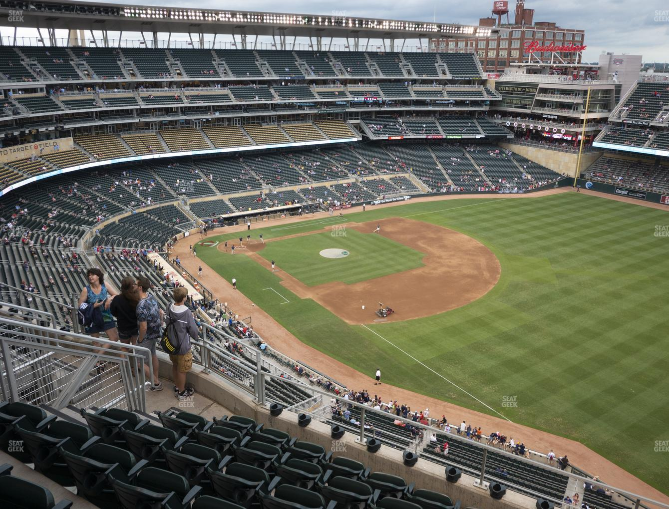 Target Field Section 303 Seat Views