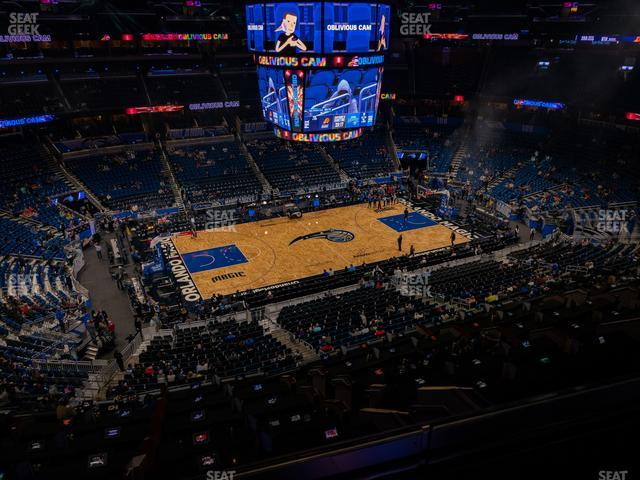 Amway Center Section 227 view