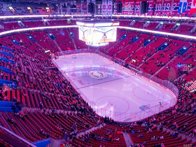 Bell Centre Section 313 view
