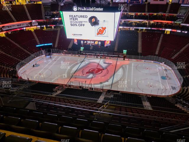 Prudential Center Section 230 view