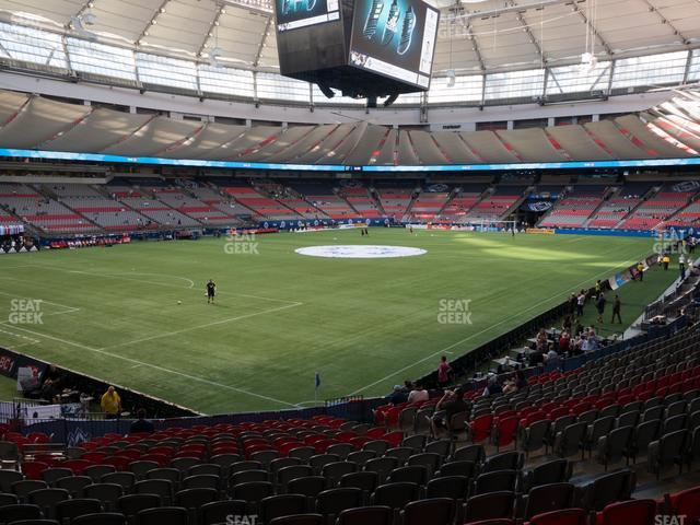 BC Place Stadium Section 249 view