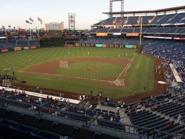 Citizens Bank Park Section 225 view