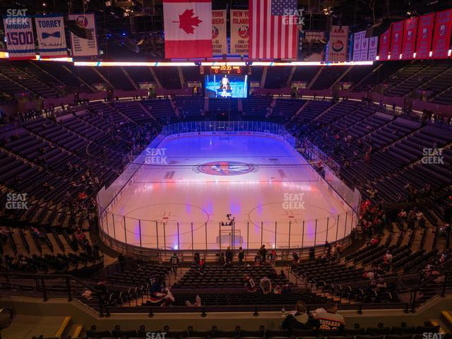 Nassau Veterans Memorial Coliseum Section 233 view