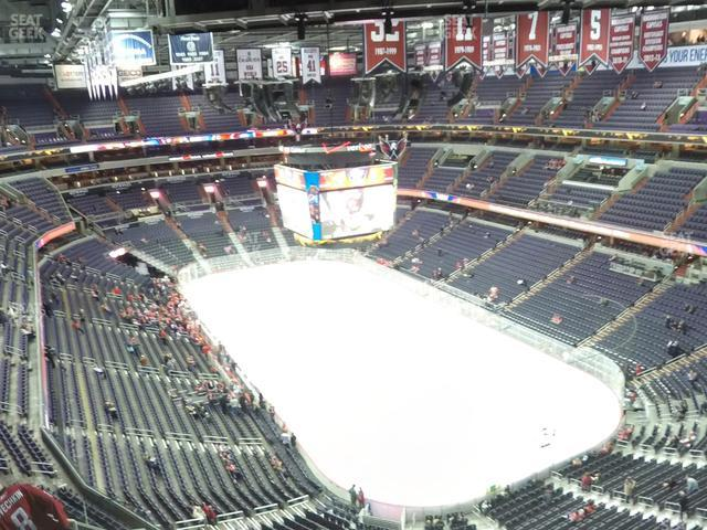 Capital One Arena Section 406 view