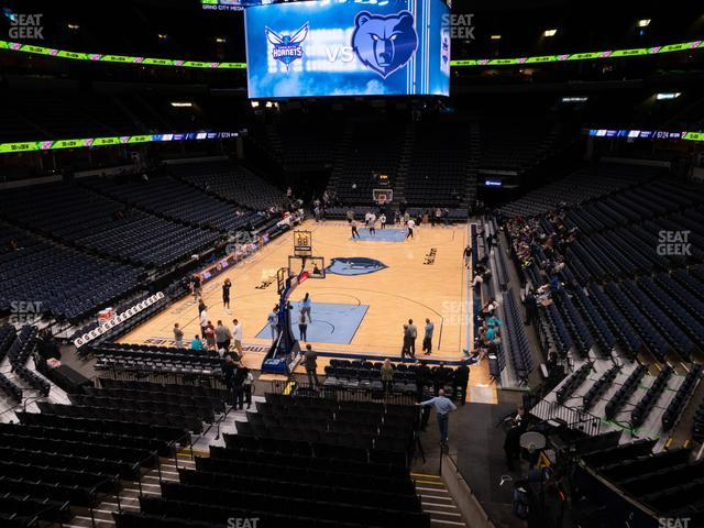 FedExForum Section 110 A view