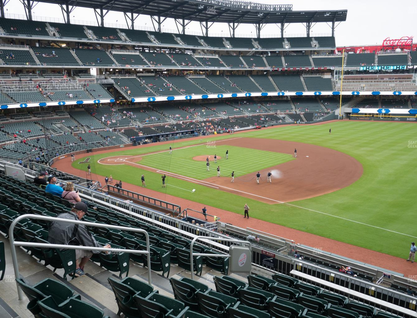 Atlanta Braves at Truist Park Section 215 View