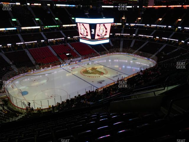 Canadian Tire Centre Section 311 view