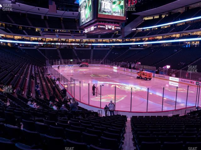 Xcel Energy Center Section 125 view