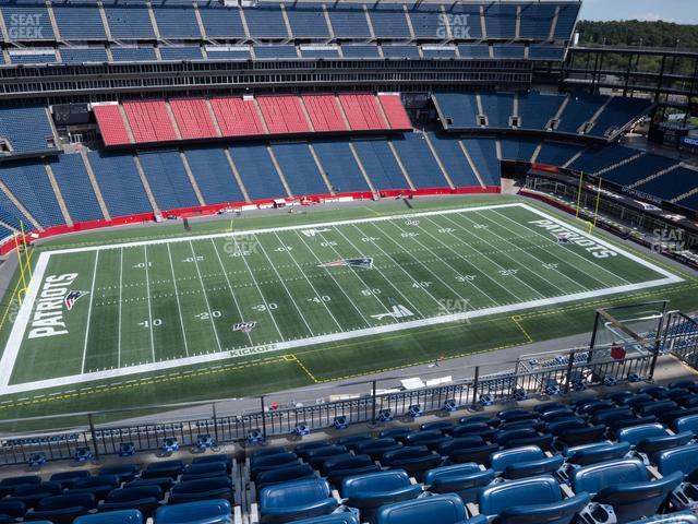 Gillette Stadium Section 334 view