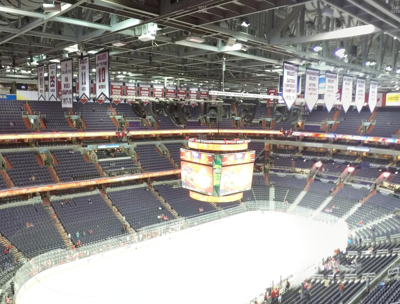 Washington Capitals at Capital One Arena Section 430 View